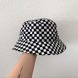 Bucket Hat Black and White